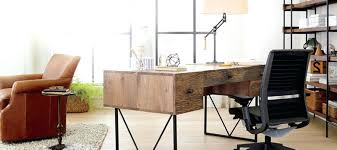 crate and barrel home office. Wonderful Home Crate Barrel Office Furniture View In Gallery Leaning Desk From With And Home A