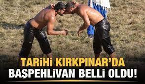 Kırkpınar'da başpehlivan Ali Gürbüz oldu! - Tüm Spor Haber