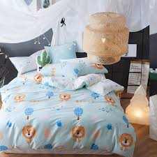 svetanya twin full queen size bedlinen 100 cotton kids s bedding sets quilt cover set character lion print comforter covers california king bedding
