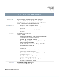 8 Autocad Drafter Resume Resume Cover Note