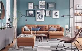 Brown leather living room furniture Inspiration Brown Luxury Made Affordable In The Living Room Ikea Landskrona Golden Brown Leather Sofa Is Stitched Ikea Living Room Furniture Inspiration Ikea
