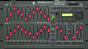 behringer eurolight lc2412 dmx lighting controller