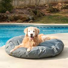 outdoor dog bed replacement cover waterproof round dog bed diy outdoor raised dog bed