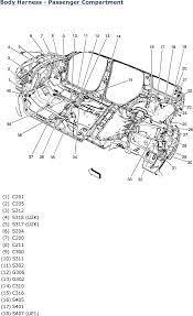 1997 cadillac deville 4 6l mfi dohc 8cyl repair guides wiring body harness passenger compartment 2007