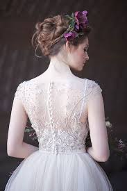 art nouveau wedding dress. gorgeously moody bridal style inspired by art nouveau wedding dress a