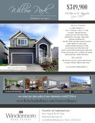 flyer willow park marysville real estate mls  marysvillerealestate lakestevens realestate abundance of space step inside this 2550sf 4 bed bonus home to extensive hw floors soaring 2 story