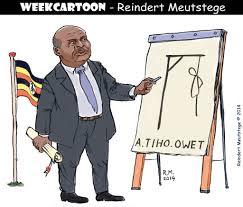 Image result for Yoweri Museveni CARTOON