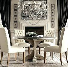 crystal orb chandelier restoration hardware chic with crystals smoke foucault