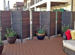 folding outdoor privacy screen
