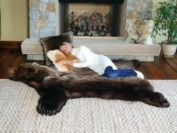 fake bear skin rug with head bearskin blanket best images on bear skin bearskin blanket fake