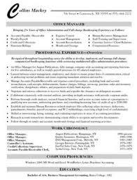 Medical Office Manager Resume Resume
