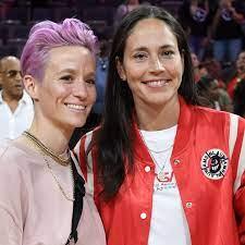 Megan Rapinoe and WNBA star Sue Bird ...