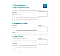 Referral Coupon Template Gorgeous Printable Referral Coupon Template Download Client Program For