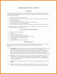 Summary In Resume - Resume And Cover Letter - Resume And Cover Letter