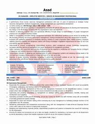 Hr Executive Sample Resume Unique Cover Letter Cover Letter Sample