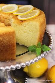 1920 Famous Ritz Carlton Lemon Pound Cake Recipe Through Her