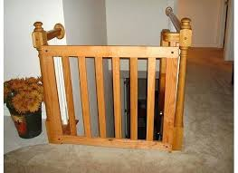 Baby Gates For Stairs With Iron Railings Wooden Baby Gates Design ...