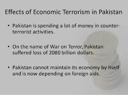economic terrorism in  9 effects of economic terrorism in •
