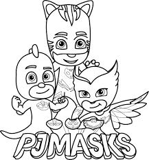 Pj Masks Coloring Pages Pj Masks Pj Masks Coloring Pages Pj