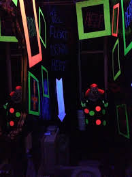 halloween lighting effects. black light funhouse on halloween forum lighting effects