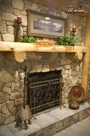 fireplace mantel in golden eagle s lakehouse