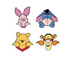 tigger face. Beautiful Tigger Winnie The Pooh Faces Die Cuts Tigger Piglet Cuts  Eeyore Wall Decor With Face