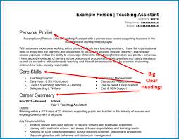 Resume Profile Header Examples 7 Cv Format Tips That Will Get You More Interviews Get Noticed