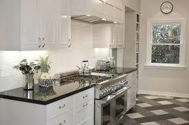 polished black countertops