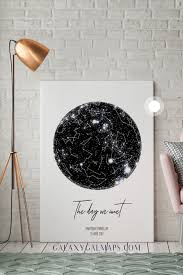personalized star map astronomy gifts wall art bridal shower gift for wedding bride groom gift for her personalized enement gift for