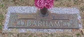 "PFC Thomas Lud ""Tom"" Barham (1908-1980) - Find A Grave Memorial"
