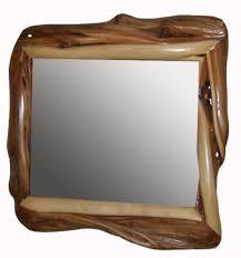 wood mirror frame. Natural Wood Mirror · Frame