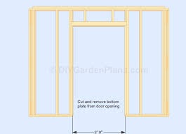 Gable Shed Plans Walls and Door Cont