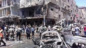 Resultado de imagen para Dos muertos y varios heridos por ataques terroristas en Siria