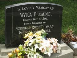 Myra Fleming Thomas (Unknown-1953) - Find A Grave Memorial