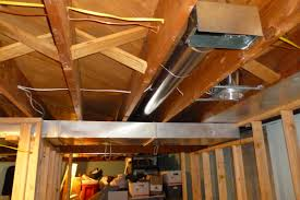 Awesome Collection Of Painting Unfinished Basement Ceiling Ideas