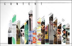 Creative Index Page Design Urnu Magazine Table Of Contents Design Contents Page