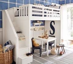 loft beds for kids pottery barn. Interesting Kids Catalina Stair Loft Bed Pottery Barn Kids Beds And With For Kids I
