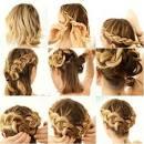 Плетение кос сами пошаговое 29