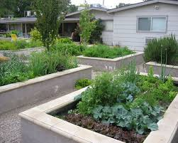 Small Picture Cinder Block Raised Bed Garden Houzz
