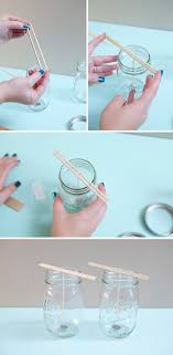 Decorate Jar Candles 100 Brilliant DIY Candle Making and Decorating Tutorials Cute DIY 47