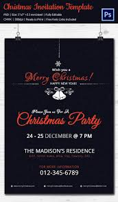 Printable Christmas Flyers 20 Christmas Party Templates Psd Eps Vector Format Download
