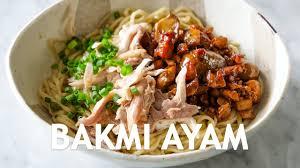Cara membuat mie pangsit kuah: Resep Mie Ayam Special Legendary Recipe Youtube