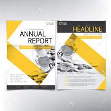 Financial Report Cover Page Modern Business And Financial Cover Page Vector Template Can