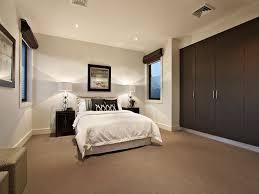 carpet floor bedroom. Modern Bedroom Design Idea With Carpet \u0026 Built-in Wardrobe Using Brown Colours - Floor