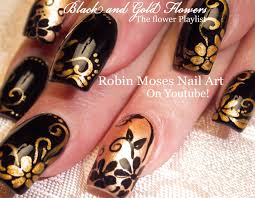 Nail Art Black Gold - Best Nails Art Ideas