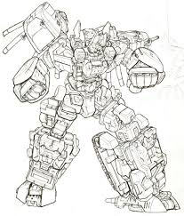 Transformers Autobots Coloring Pages Jerusalem House