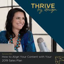 Tracy Matthews Designs 180 How To Align Your Content With Your 2019 Sales Plan