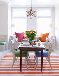 colorful modern dining room. Colorful Modern Dining Room At Classic Chairs Tjihome For · «