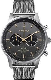 Наручные <b>Часы Triwa</b> Nest114-Me021212 с Хронографом ...