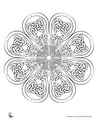 Small Picture Irish Coloring Pages Celtic Mandalas Celtic Art Adult Coloring